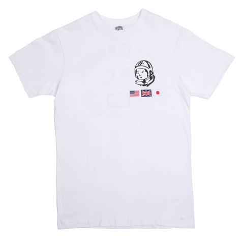 Billionaire Boys Club Helmet Tour Knit Tee White