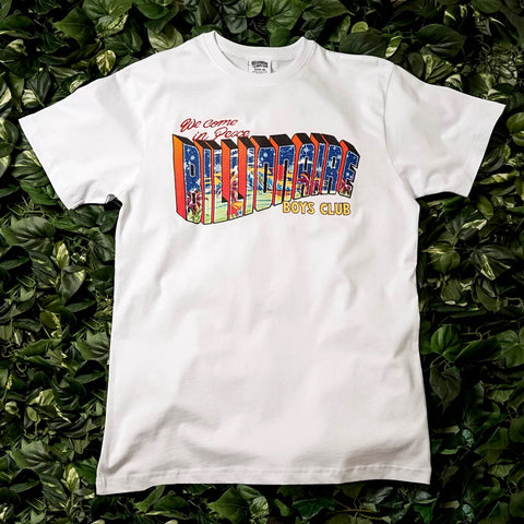 Billionaire Boys Club Greetings Tee White