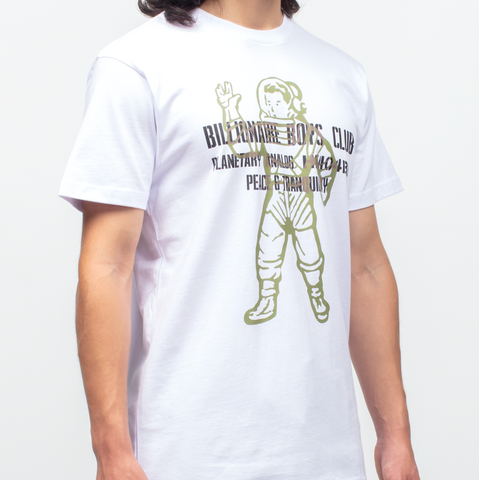 Billionaire Boys Club Visitor Tee White