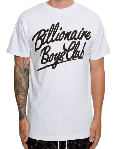 Billionaire Boys Club Space King Tee White