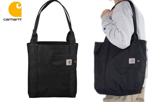 Carhartt USA Signature Essentials Tote Bag Black