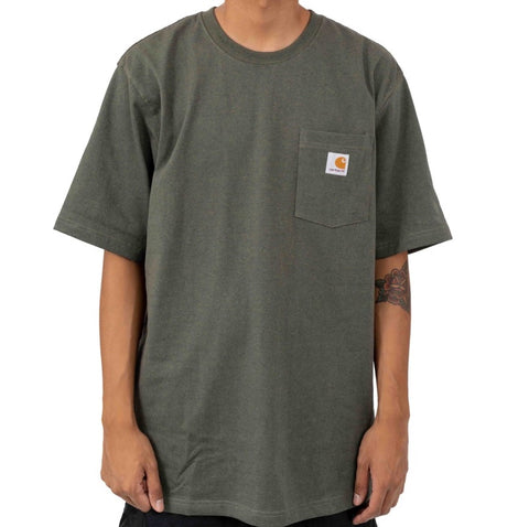 Carhartt Workwear Pocket Tee Olivine Heather