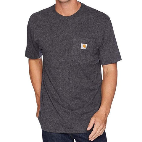 Carhartt USA Workwear Pocket Tee Carbon Heather