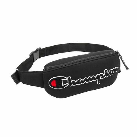 Champion Logo Waist Bag (Black)