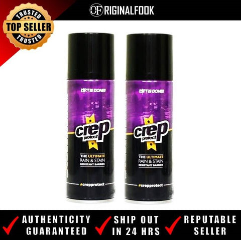 Crep Protect Dirt & Water Repel Spray (x2 Cans)