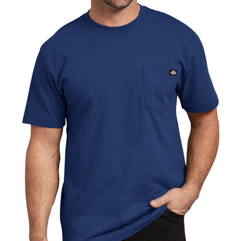 Dickies Short Sleeve Heavyweight Tee Deep Blue
