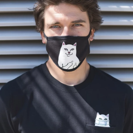 RIPNDIP Lord Nermal Face Mask