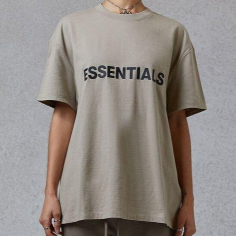 FEAR OF GOD Essentials 3D Logo Tee Olive