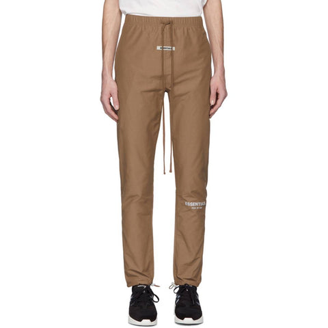 FEAR OF GOD Essentials Nylon Track Pant Brown