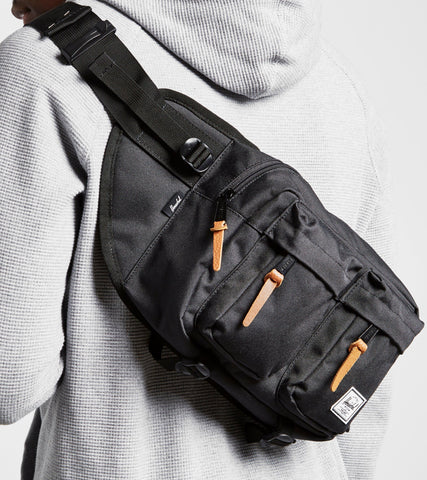 (SALE) Herschel Supply Eighteen Waistbag (Black)