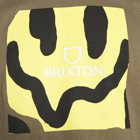 BRIXTON Melter Square Tee Military Olive
