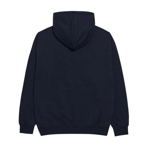 ADLV Two Color Embroidery Patch Hoodie Navy