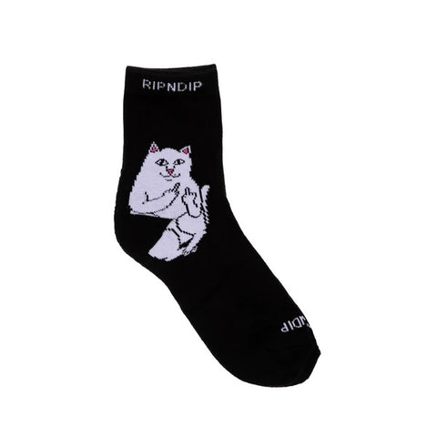 RIPNDIP Lord Nermal Mid Socks Black