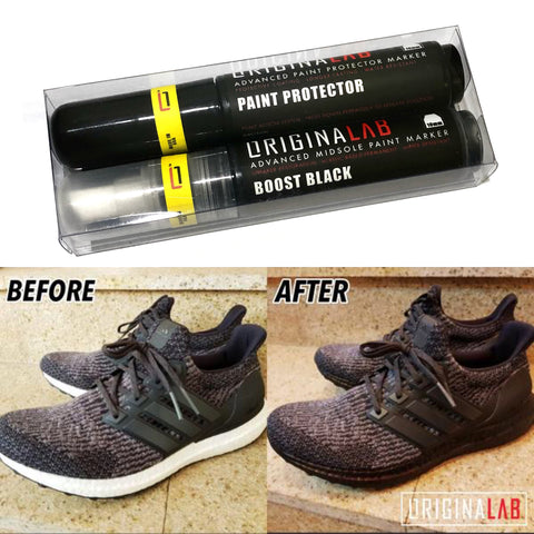 ORIGINALAB Midsole Marker Kit Boost Black + Paint Protector
