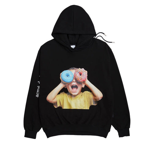 ADLV Baby Face Donut 5 Hoodie Black