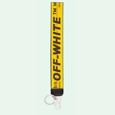 OFF-WHITE Classic Industrial Key Holder Yellow