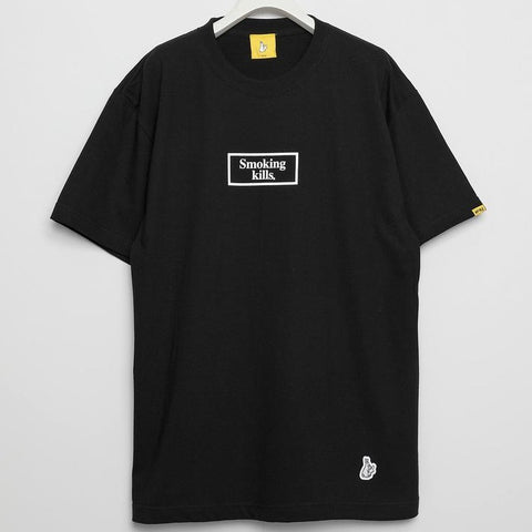 FR2 JAPAN Smoking Kills Box Logo Tee Black