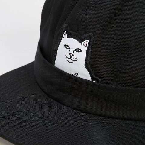RIPNDIP Lord Nermal Pocket Cap Black
