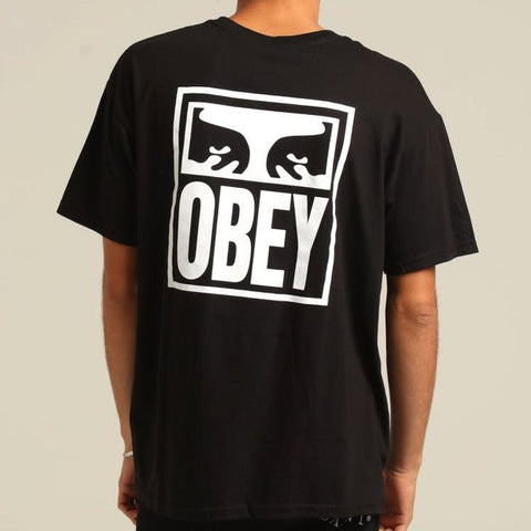 Obey Eyes Icon 2 Tee Black