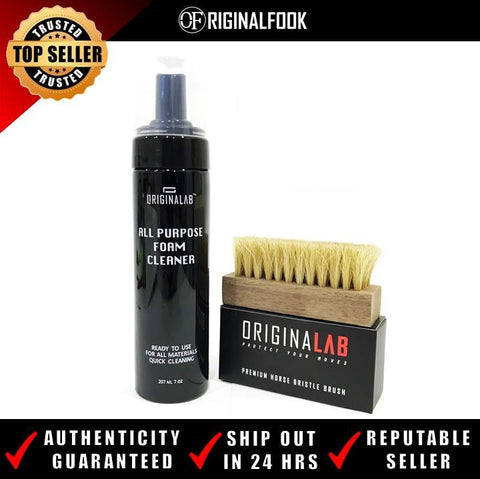 ORIGINALAB Sneaker Foam Cleaner + Premium Brush