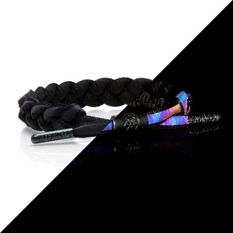 Rastaclat VOID Reflective Braided Bracelet