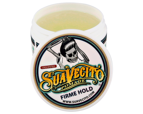 Suavecito Firm Hold Unscented Pomade