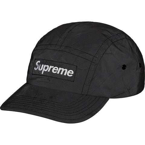 PALM ANGELS Rainbow Logo Cap Black