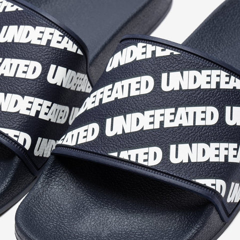 UNDEFEATED Repeat Slides Navy