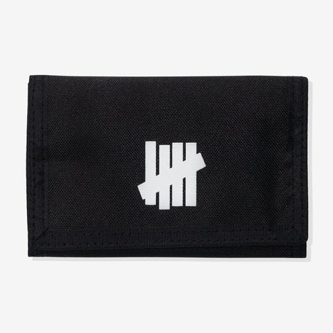 UNDEFEATED Trifold Wallet Black