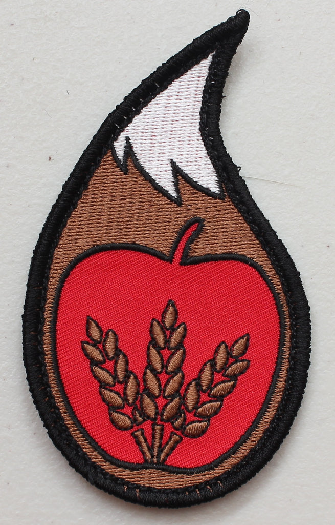 Spice and Wolf Tail Velcro Patch