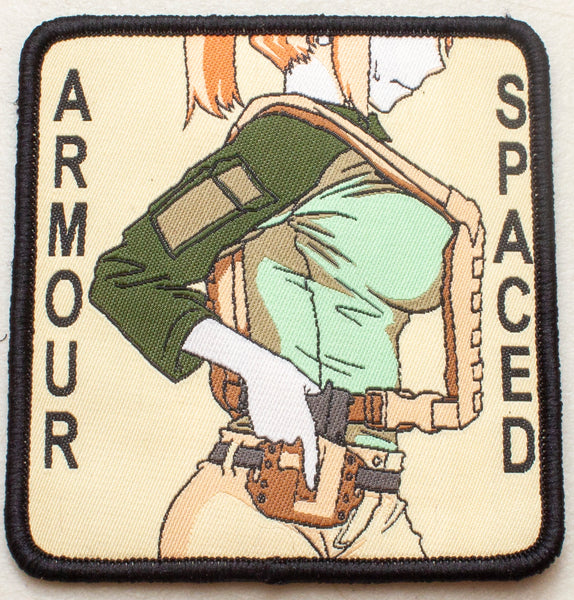 Spaced Armour Velcro Patch