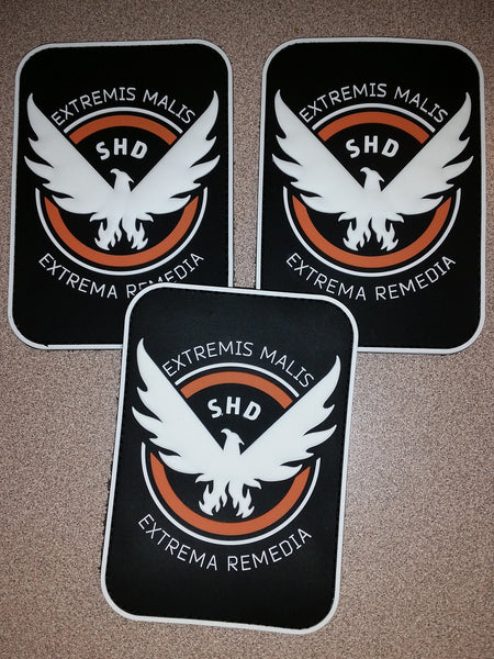 "Bloomberg's Battalion ""The Division"" PVC Velcro Patch"