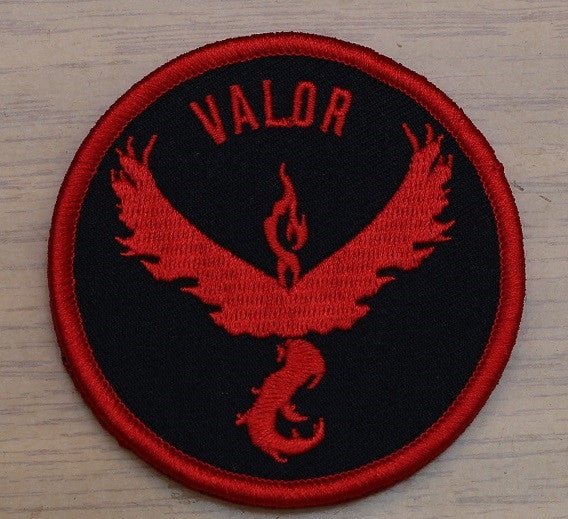 Team Valor Velcro Patch
