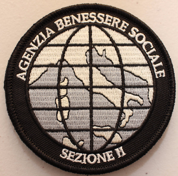 Social Welfare Agency Velcro Patch
