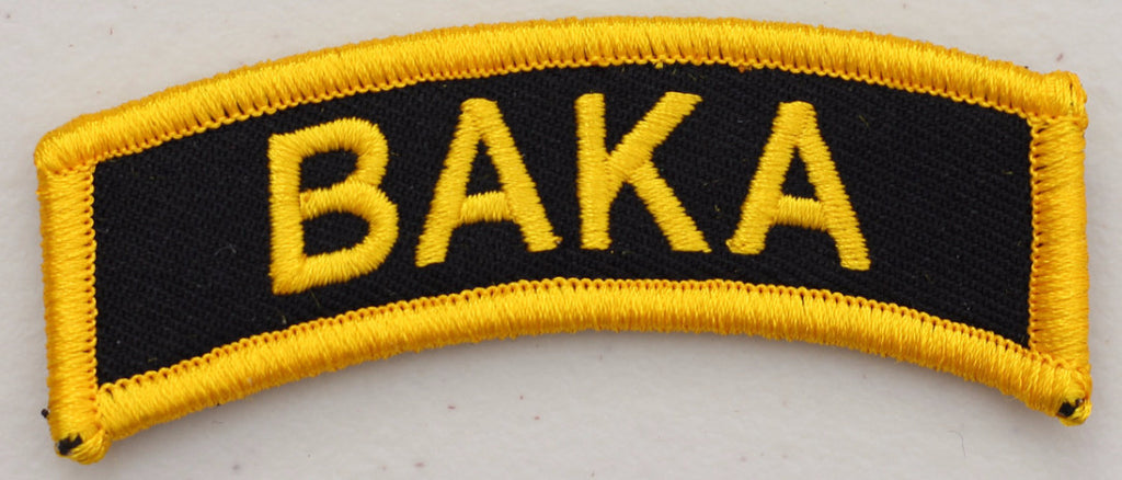 Baka Tab Velcro Patch