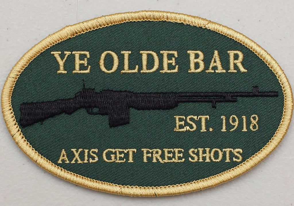 Ye Olde Bar Velcro Patch