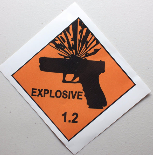 GlockSplosion Decal Sticker
