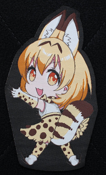 Hanging Serval Velcro Patch