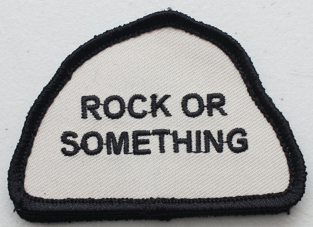 Rock or Something Velcro Patch