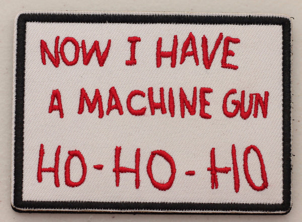 Die Hard Christmas Velcro Patch