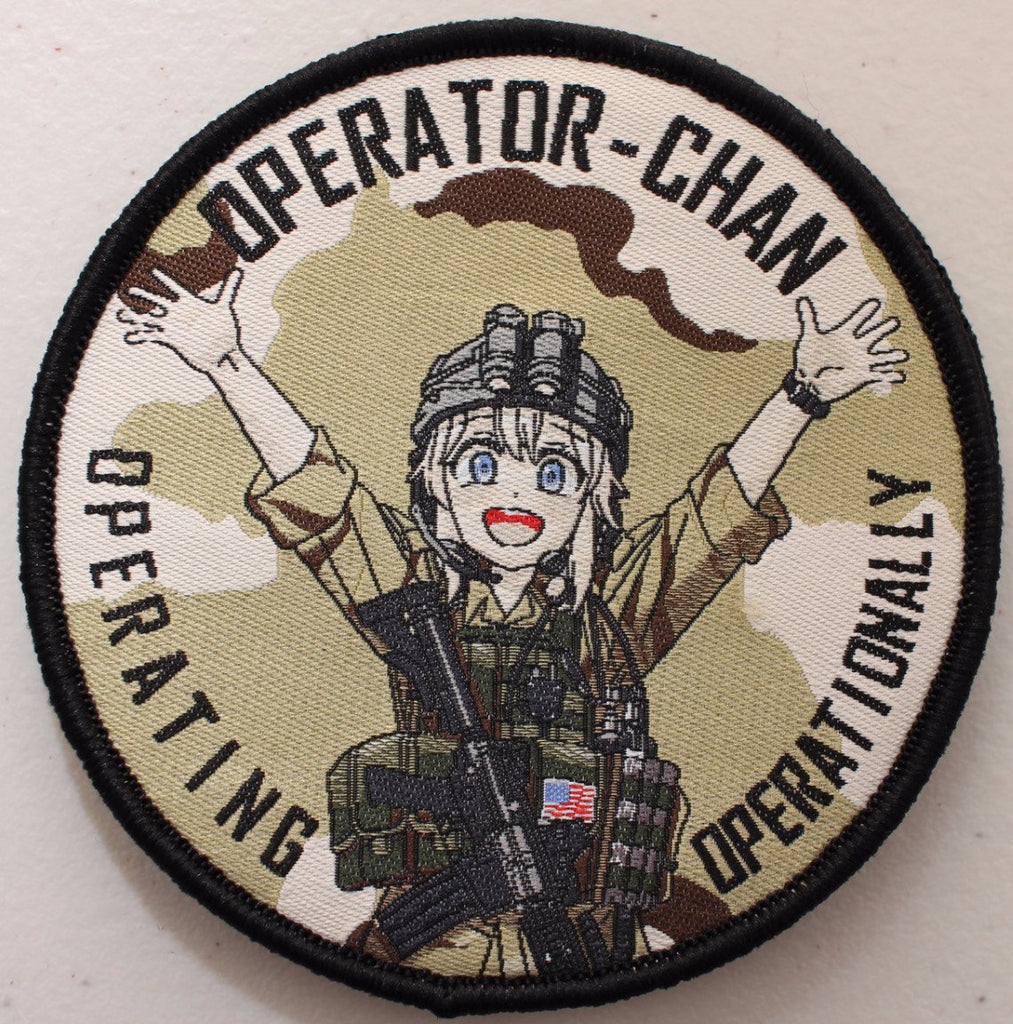 Operator-Chan Velcro Patches