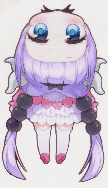 Hanging Kanna Decal Sticker