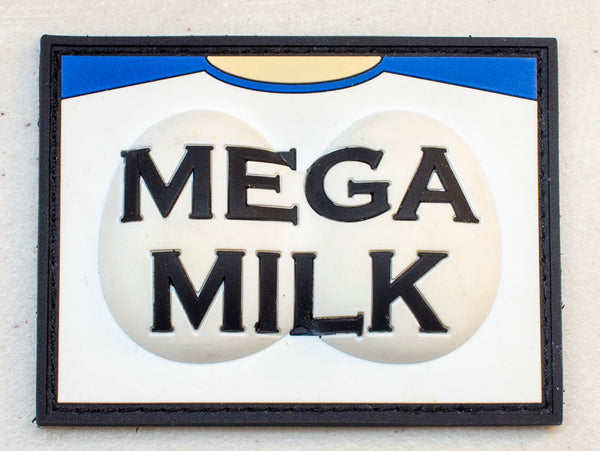 Mega Milk Oppai PVC Velcro Patch