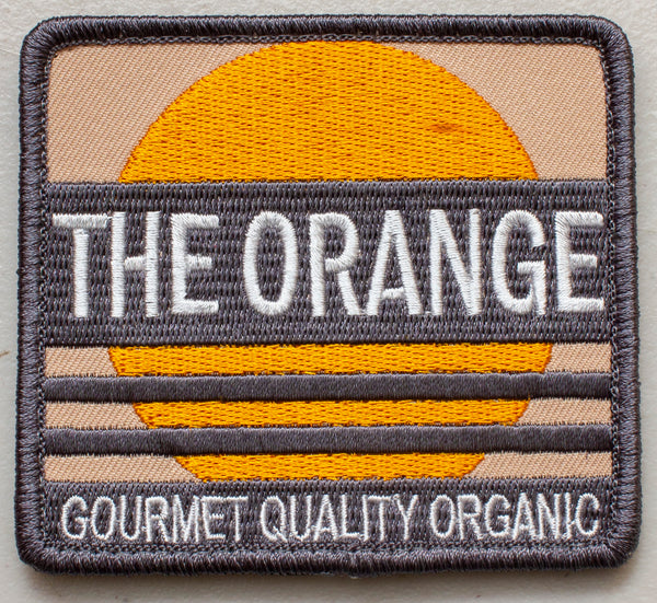 Metal Gear Solid The Orange Cardboard Box Velcro Patch