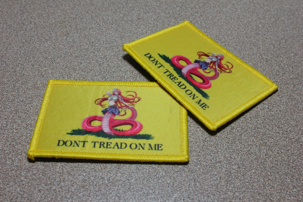 miia gadsen don t tread on me velcro patch unlimited patch works