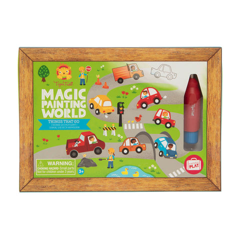 Tiger Tribe - Magic Painting World - Things that Go - Sweet Pea Kids