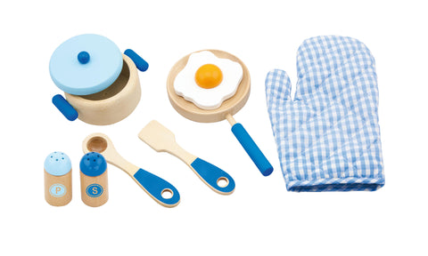 Cooking Tool Set - Blue - Sweet Pea Kids