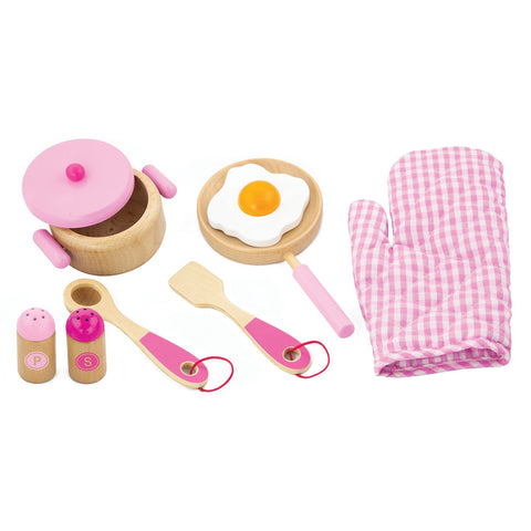 Cooking Tool Set - Pink - Sweet Pea Kids