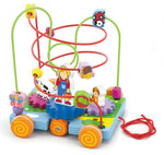 Pull Along Wire Beads with Turning Gears - Sweet Pea Kids