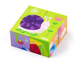 Viga - 6-side Cube Puzzle - Insect - Sweet Pea Kids